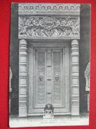 "CAMBODGE - "" MUSEE DE SCULPTURE COMPAREE  "" - BAKOU OU PRAH KOU - "" FAUSSE PORTE "" - RARE - - Cambodge"