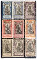 Inde N° 25 / 42 X  La Série Des 18 Valeurs Trace De  Charnière Sinon TB