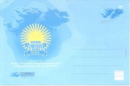 DIA DE LA AFIRMACION DE LOS DERECHOS ARGENTINOS SOBER LAS MALVINAS, ISLAS Y SECTOR ANTARTICO - NINGUN SUELO - Enteros Postales