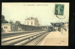 94 Val De Marne  Choisy Le Roi 18 Intérieur De La Gare EP 1907 - Choisy Le Roi