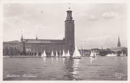 Sweden - Stockholm Stadshuset 1936 - Suède