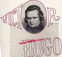87- ROCHECHOUART - PLAQUETTE VICTOR HUGO ET LA FRANCE DE SON TEMPS- 27 MARS 1982 AU CHATEAU- JACK LANG-JACQUES GERARD - Programs