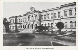 9038) BRASILE VISTAS DE BELEM INSTITUTO GENTIL BITTENCOURT NON VIAGGIATA MA FOLDER DATATO 1945 - Belém