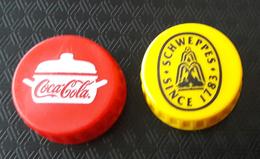 SLOVENIA  Bottle CocaCola  Schweppes Caps - Capsules & Plaques De Muselet