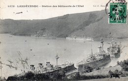 LANDEVENEC  -  Station Des Bâtiments De L' Etat - France