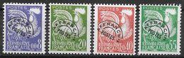 Frankreich 1960 / MiNr.   1302 – 1305  Freimarken Mit Vorausentwertung    ** / MNH   (o3399) - France