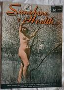 Ancienne Revue SUNSHINE & HEALTH Naturisme Femme Nue Homme Nu Nus Erotique Pin'up - Erotic (...-1960)