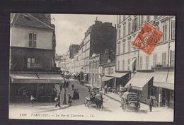 """CPA 75 - PARIS - XIIè Rue De Charenton - Très Beau Plan De Rue Animation - Attelages Dont """"Ville De Paris Voie Publique"""" - Arrondissement: 12"""