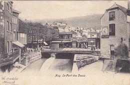Huy - Le Pont Des Veaux (précurseur, Animée, Garage Automobiles Vélos FN, Publicité Ardoisier...1904) - Huy