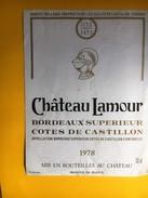 2673 - Château Lamour 1978 Côtes Du Castillon - Bordeaux