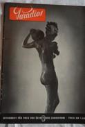 Ancienne Revue PARADIES  Naturisme Femme Nue  Nu Nus Erotique Pin'up - Erotic (...-1960)