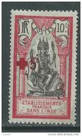 Inde N° 48 X  Au Profit De La Croix- Rouge, Trace De  Charnière Sinon TB - India (1892-1954)