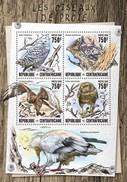 Central African Republic. 2016 Birds Of Prey. (812a) - Owls