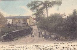 Lierneux - Vieux Chemin De Verleumont (animée, Colorisée, Précurseur, 1905) - Lierneux