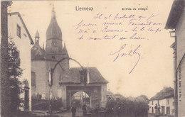 Lierneux - Entrée Du Village (animée, Nels, 1904) - Lierneux