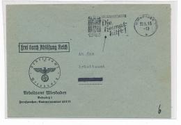 Wiesbaden .... Beleg  ( G4811  )  Siehe Foto - Germany