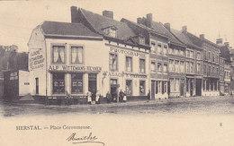 Herstal - Place Coronmeuse (commerces Photographie, Tabacs, Café Restaurant) - Herstal