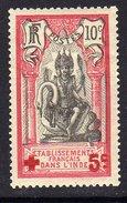 Inde N° 44 X  Au Profit De La Croix- Rouge, Trace De  Charnière Sinon TB - India (1892-1954)