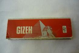 """Tobacco,cigarette Paper, """"GIZEH"""" Made In Austria - Autres"""
