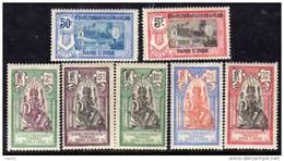 Inde N° 49 / 55 X  Série Courante La Série Des 7 Valeurs Trace De  Charnière Sinon TB