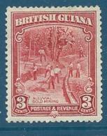 Guyane Anglaise      - Yvert N° 144 *    - Cw 5220 - Guyane Britannique (...-1966)