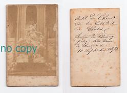 Chartres, Pélerinage à Notre-Dame 10/09/1873, Autel Du Choeur, Phot Cdv - Lieux