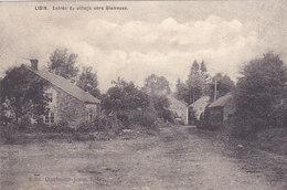 Libin - Entrée Du Village Vers Glaireuse (Edit. Duchesne-Joris, 1911) - Libin