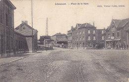 Libramont - Place De La Gare  (animation, Edit Victor Caën) - Libramont-Chevigny