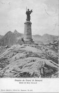 GRAND ST. BERNARD → Statue De Saint Bernard Anno 1908 - VS Valais