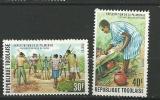 """Togo YT 845 Et 846 """" Palmeraie """" 1975 Neuf** - Togo (1960-...)"""
