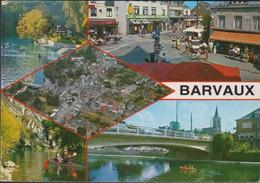 Grote Kaart Durbuy Barvaux Sur Ourthe - Durbuy