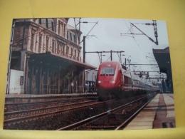 TRAIN 1513 - TIRAGE 100 EX - 93 ST DENIS 19 JUILLET 1998 UNE RAME TGV PBKA THALYS PASSE EN GARE DE ST DENIS - Saint Denis