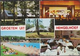 Grote Kaart Groeten Uit Hengelhoef Houthalen Helchteren Limburg - Houthalen-Helchteren