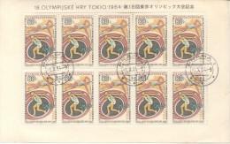 CZECHOSLOVAKIA - CESKOSLOVENSKO - CECOSLOVACCHIA 1964 SUMMER OLYMPIC GAMES TOKYO  OLIMPIADAS DE VERANO 64  ATHLETISME