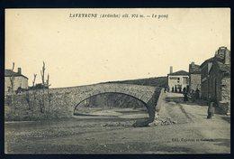 Cpa Du 07  Laveyrune -- Le Pont    JIP93 - France