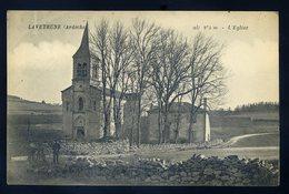 Cpa Du 07  Laveyrune -- L' église    JIP93 - France