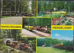 Grote Kaart Domein Hengelhoef Houthalen Helchteren Limburg (kreuk - Pli - Fold) - Houthalen-Helchteren