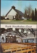 Grote Kaart Kerk Houthalen Oost Helchteren Limburg (kleefschade) - Houthalen-Helchteren