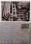 CARTOLINA CON 30 CENT FIERA MILANO PADOVA BASILICA DEL SANTO ALTARE MAGGIORE 1936 (66L - 1900-44 Victor Emmanuel III.