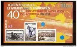 T.A.A.F Terres Australes 1995 Yvertn° Bloc 2 *** MNH Cote 14,50 Euro  Faune - Blocs-feuillets