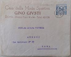LETTERA CASA DELLA MODA AFFRANCATURA RECAPITO AUTORIZZATO (PRIMI 900) (72L - Poststempel