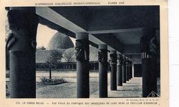 Exposition Coloniale Internationale (Paris 1931). Congo Belge. Vue Prise Du  Portique Des Industries De Luxe - Expositions