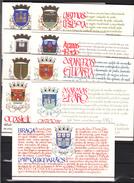 Portugal 1986-1988,18 Diff Booklets With Castles(complete Set),kastelen,burgen,Châteaux,castillos,MNH/Postfris(C168) - Kastelen