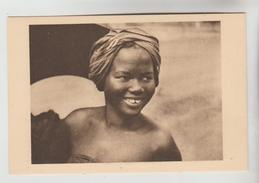 CPSM ETHNIQUE CULTURE D'AFRIQUE - OUBANGUI Devenu REPUBLIQUE CENTRAFRICAINE : Sourire D'ingénue - Africa