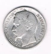 1 FRANC 1852 A FRANKRIJK /202B/