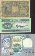 Lot De 11 Billets - Divers Pays: Emirats Arabes, Brasil, Viet-Nam, Italie, Egypte... - Etat Divers