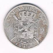 1 FRANC 1886 BELGIE /207B/