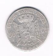 50 CENTIEMES 1866 BELGIE /209B/