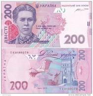 Ukraine - 200 Hryven 2014 Gontareva UNC Lemberg-Zp