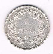 1 FRANK 1912 VL BELGIE /212B/